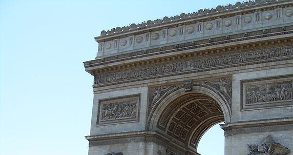 <span class='credit'>Photo By: Dan Hamilton   News Editor</span><span class='description'>Seeing the Sights: Travel to France and take a trip through the Arc de Triumphe. </span>