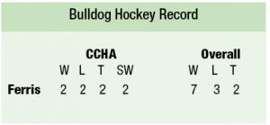 Bulldog Hockey Record