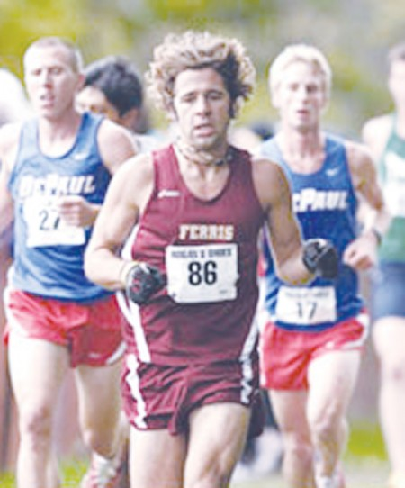 Running into the Season: The Ferris cross country team are warming up for the 2010-2011 season, which begins Sept. 3 at the Northwood Open. The team hopes to run to Nationals again this year. Photo Courtesy of Ferris State Athletics