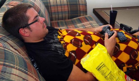 """Lazy Day: Ryan Dittmer, FSU Criminal Justice student, enjoys a day off school. Many students should take advantage of the summer vacations they have left before entering the """"real world."""" Photo By: Sam Lehnert   Ad Layout Assistant"""