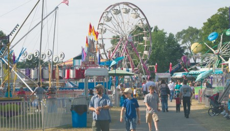 Fun For All : The Mecosta County fair offers rides, games, food and activities for people of all ages to enjoy. The county fair will run July 8 - July 13 this summer. Photo by Brock Copus   Multimedia Editor