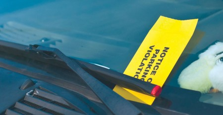 Drivers Beware: Make sure you know when and were to park to avoid tickets from DPS. Torch File Photo