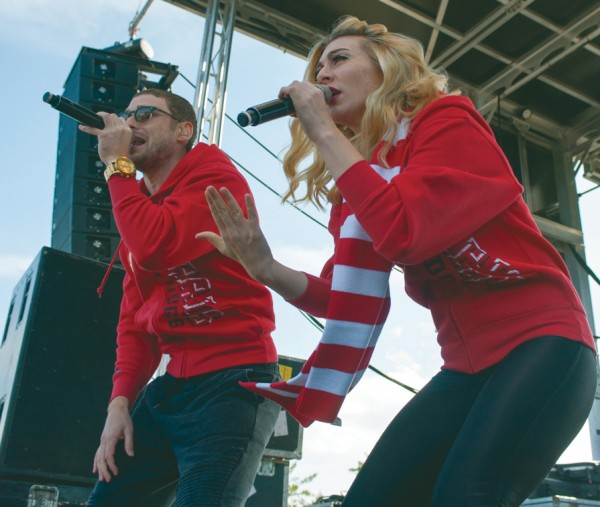 Karmin performs as the headline for this year's Ferris Fest along with other performances by Reel Big Fish, Stepdad and local artist. Check out page 6 in Lifestyles for an interview with Karmin's Nick Noonan and Amy Heidemann. Photo By: Tori Thomas | Photographer