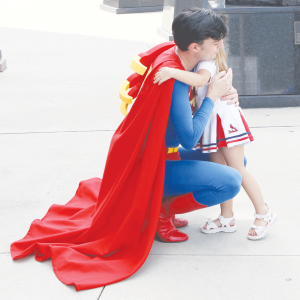 Superman is a symbol of hope to many people around the world.
