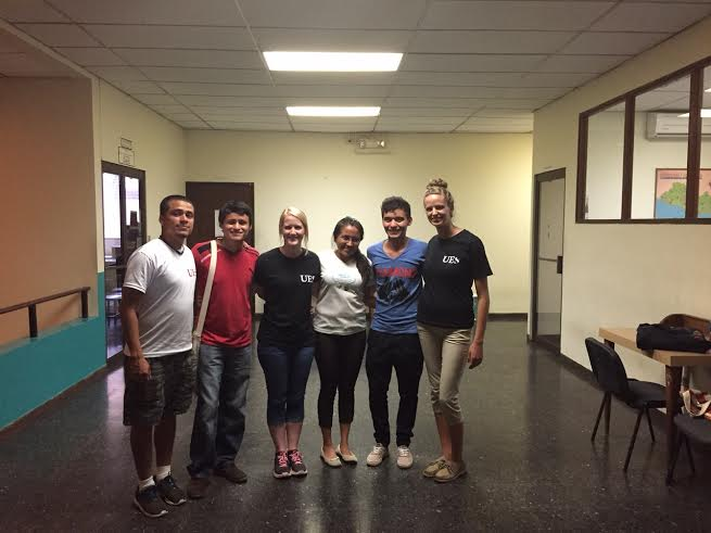 A group of social work students traveled to El Salvador to study abroad.